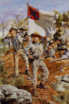 Cockrell's Missouri Brigade - Kennesaw Mountain