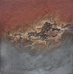 mixed media on canvas 100x100 natural pigments www.liesbet.biz, by Liesbet Optendrees