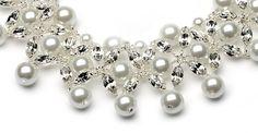 pearl wedding jewelry 110.00