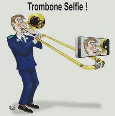 Image result for selfie stick for trombone