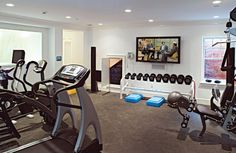 Home Gym, one day...