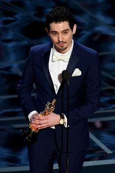 "Winner: Directing - Damien Chazelle for ""La La Land."" Chazelle is the youngest person at 32 to win the Best Director award. Oscar Winners 2017, Academy Award Winners, Academy Awards, Best Director, Film Director, Justin Timberlake, Damien Chazelle, Denis Villeneuve, La La Land"