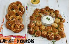 Soft Pretzel Wreath