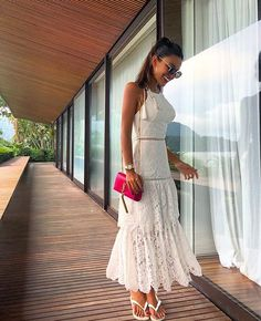 /beatrizzms Looks, White Dress, Dresses, Fashion, Wish, Vestidos, Moda, Gowns, Fasion