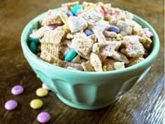 easter chex mix