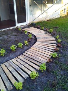 Phase 4 pallet walkway