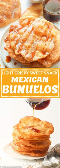 Mexican food recipes 59883870032672222 - Bunuelos Recipe – Immaculate Bites Source by africanbites Mini Desserts, Easy Desserts, Delicious Desserts, Yummy Food, Mexican Snacks, Mexican Dessert Recipes, Mexican Dishes, Mexican Easy, Drink Recipes
