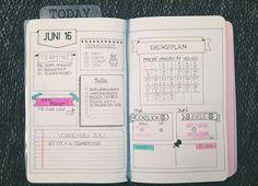 Dieses layout gefällt mir super gut.. Werd ich sicherlich mal testen, in meinem Bullet Journal.