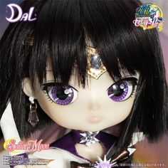 13th Collaboration from Pullip Family x Sailor Moon Series; ''Galaxy Strongest Soldier Sailor Saturn is now arrived!!'' /  Accessories: Tiara, Doll Stand / Set Contents: Tiara, Choker, Leotard, Skirt, Gloves, Boots / Feeling:Silent Star, The Saturn for the protection....Solider Sailor Saturn of ruin and the birth.  / - 13th Dream Collaboration for Pullip Family x Sailor Moon; Galaxy Strongest Soldier Sailor Saturn is now arrived by DAL!!