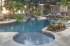 Step away from it all for a moment with Artistry Of Space TV #floridapoolbuilder #outdoorliving #floridalifestyle