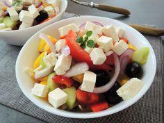 Fruit Salad, Cobb Salad, Tofu, Feta, Red Peppers, Fruit Salads