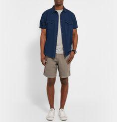 HartfordRegular-Fit Linen Shorts