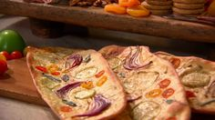 Watch Martha Stewart's Julie's Flatbread Video. Get more step-by-step instructions and how to's from Martha Stewart.