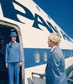 Pan Am 747 Welcome Aboard
