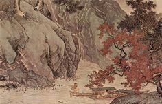 T'ang Yin. A Fisher in Autumn.  Tang Yin (唐寅, 1470-1523), Ming Dynasty (1368-1644)