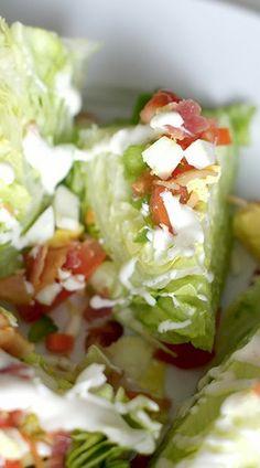 Mini Wedge Party Salads