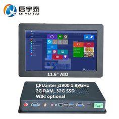 Công nghiệp PC inter j1900 1.99 GHz hỗ trợ win7/8/10 2 Gam DDR3 32 Gam SSD máy tính nhúng tất cả trong một pc Độ Phân Giải 1366x768