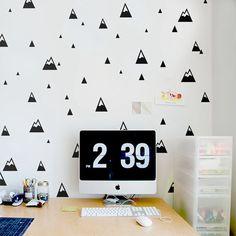 Montagnes motif sticker Moderne de mur de Crèche autocollant Nature Petites Montagnes Enfants Chambre Décor de Mur dans Stickers muraux de Maison & Jardin sur AliExpress.com | Alibaba Group