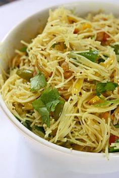 Sreelus Tasty Travels: Rice Sevai - A Potluck Dish