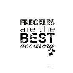 Freckles -print // Pisama Design