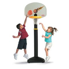 Adjust and Jam™ Basketball Set for $49.99 #littletikes   Rayshaun would love this...