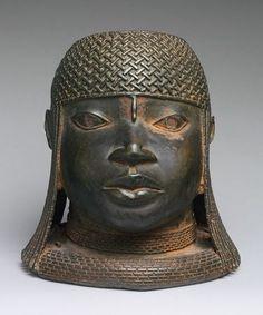 Head of an Oba - bronze art from Benin