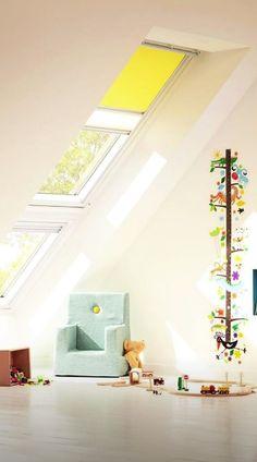 VELUX - Tetőtéri gyerekszobák  #VELUX #FarmTüzép Stairs, Loft, Bed, Inspiration, Furniture, Home Decor, Biblical Inspiration, Stairway, Decoration Home
