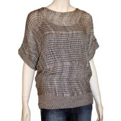Junior Plus Sheer Brown Cardigan Sweater! http://www ...
