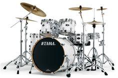 Tama Starclassic Performer B/B Drums: White Silk