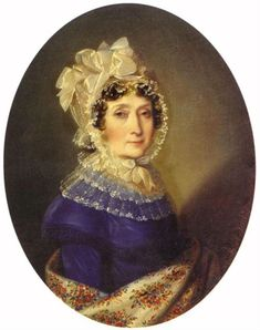 1817 Countess Ferencne Szechenyi by Johann Nepomuk Ender (location unknown to gogm)   Grand Ladies   gogm