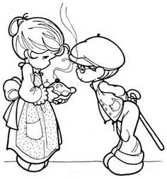 Precious Moments Clown Coloring Pages - Bing images