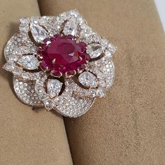 busatti milano ruby and diamond ring Red Jewelry, High Jewelry, Gemstone Jewelry, Diamond Jewelry, Fashion Jewelry, Ruby Diamond Rings, Jewellery, Circle Pendant Necklace, Fantasy Jewelry