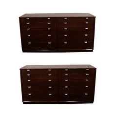 1stdibs | Pair of Edward Wormley 10 Drawer Chest of Drawers/Dresser