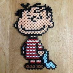 Linus - Peanuts perler beads by myjsi000