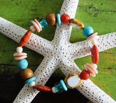 Surf ~ Island Beach Style Bracelet by Nancy Yuskaitis