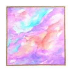 Rosie Brown Lavender Haze Framed Wall Art | DENY Designs Home Accessories