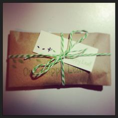 One Happy Leaf #jewellery packaging ~ all orders are gift wrapped into beautiful parcels.  www.onehappyleaf.etsy.com #eco #kraft #packaging #jewelry #wadesigner #perth #OHL #wood