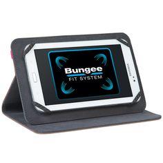 Universal Folio : Protection universelle ultrafine et compacte pour tablettes. Système Bungee (breveté) pour un maintien ultime. Mode de vision Paysage. Finition intérieure douce. Existe en 7-8'' et 9-10'' - Coloris bleu, gris, rouge et taupe. Réf. THZ33303EU - 7-8'' - Taupe. Réf. THZ33403EU - 9-10'' - Taupe. http://www.exertisbanquemagnetique.fr/info-marque/targus/ #Targus #Etui #Tablette