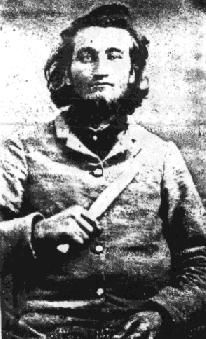 Sgt. Andrew Russell Denton, 43 Tennessee Infantry, Company G, Jefferson County, Tennessee . Sgt. Denton was wounded on June 22, 1863 and died of wounds on June 26 at Vicksburg, Mississippi. Sgt.