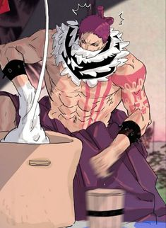 One Piece Anime, One Piece Fanart, Hxh Characters, Black Anime Characters, One Piece Pictures, One Piece Images, Big Mom Pirates, One Piece Funny, Memes