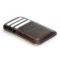N E W   iPhone 5   RETROMODERN aged leather pocket   by portel, $99.00