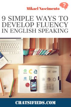 9 Simple Ways to Develop Fluency in English Speaking. This article explains 9 simple ways to help English learners to develop fluency in English speaking. English Learning Spoken, English Speaking Skills, English Class, Teaching English, English Language Test, Speak English Fluently, Fluent English, English Study, Learn English
