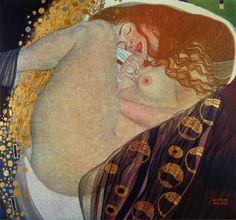 Danae, Gustav Klimt, 1907-1908.