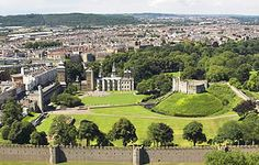 Cardiff Castle. Wales