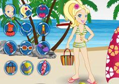 JuegosPolly.com - Juego: Ropa de Playa - Jugar Gratis Online