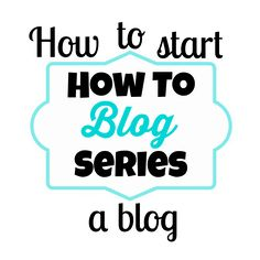 This is awesome information on how to start a blog! #greattips #startablog