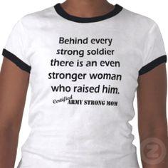 Moms Army Shirt