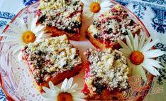 Rybízová smetanová bublanina | NejRecept.cz Sweet Cakes, French Toast, Cheesecake, Muffin, Sweets, Keto, Breakfast, Food, Morning Coffee