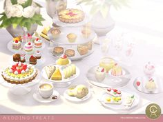 Wedding Treats for The Sims 4