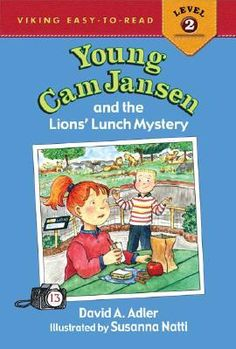 Young Cam Jansen and the Lions' Lunch Mystery (Young Cam Jansen Mysteries, #13)